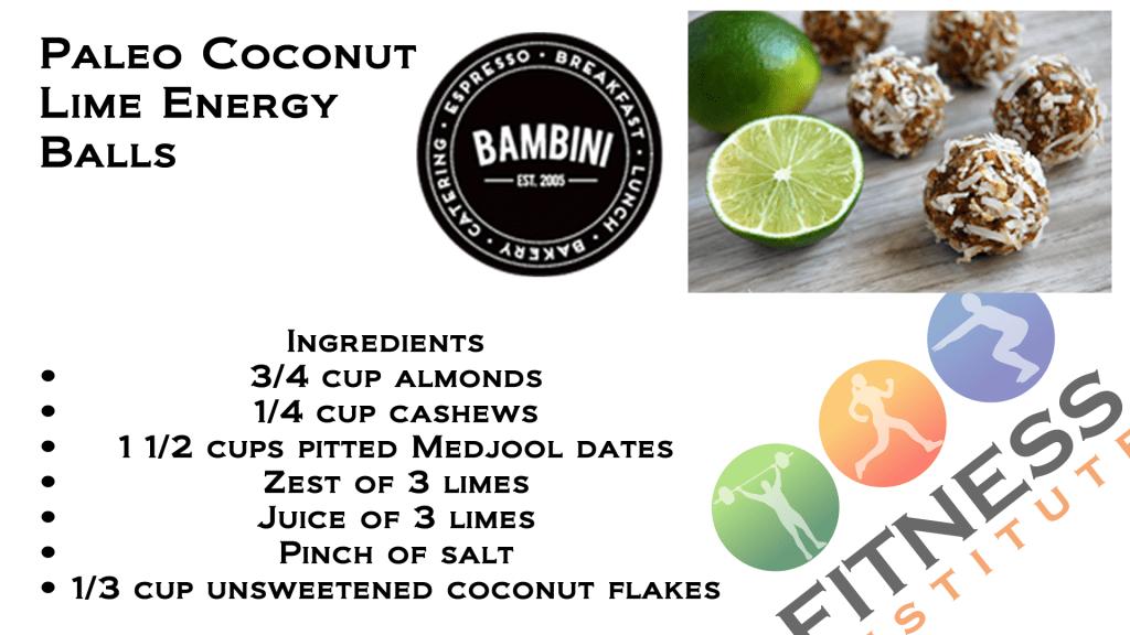 Paleo Coconut Lime