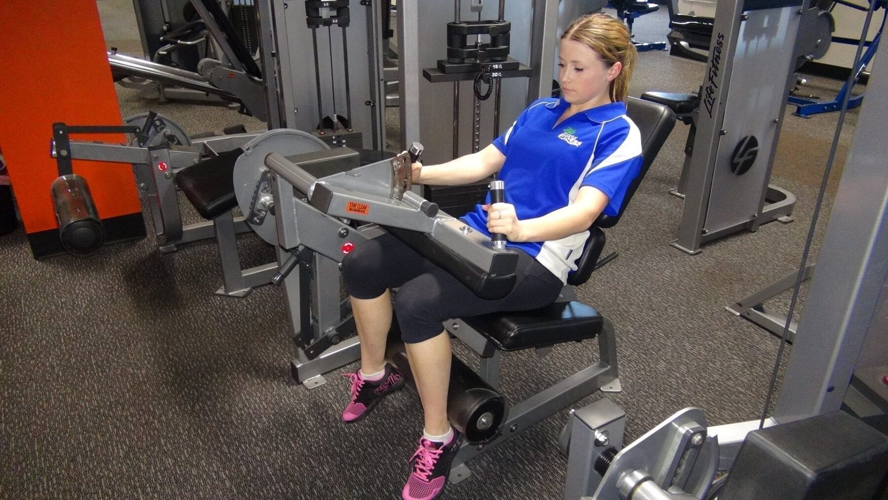 Seated Leg Curl - Pin Loaded | FITNESS INSTITUTE