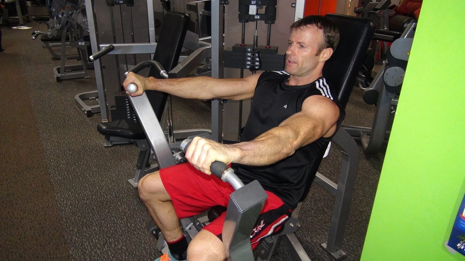 8c3c63413509f Chest Press - Pin Loaded | FITNESS INSTITUTE
