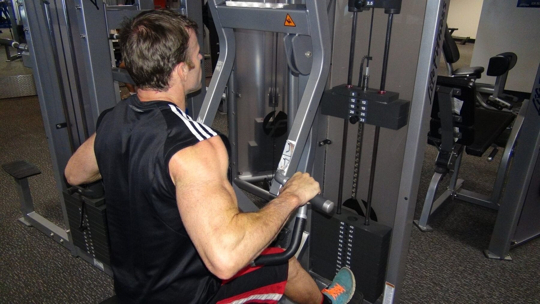 cde5482207b89 Seated Row - Pin Loaded | FITNESS INSTITUTE
