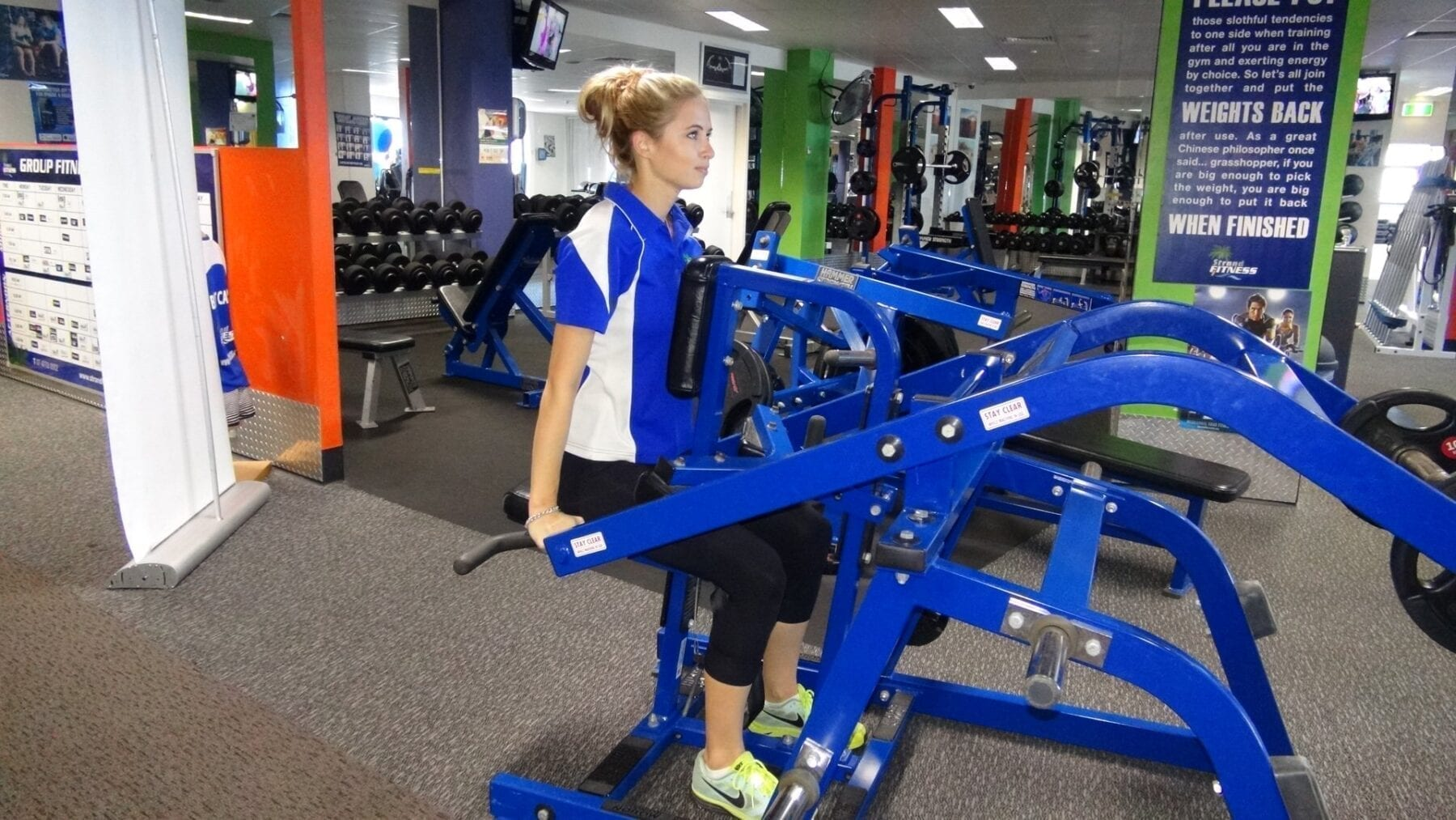 Fitness Institute Dips