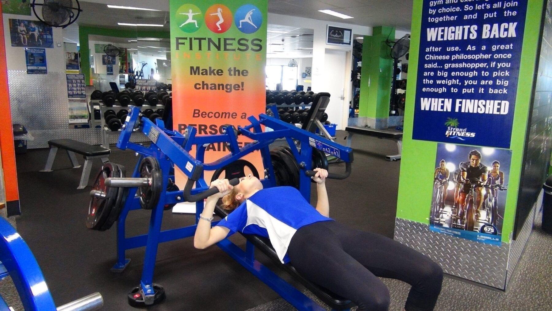 Fitness Institute Chest Press
