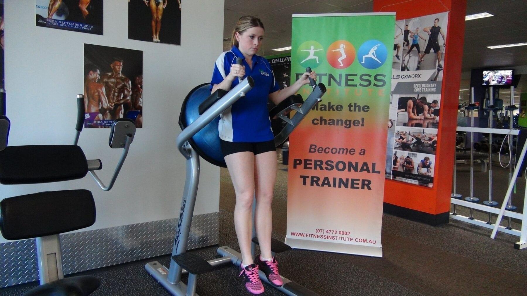 Fitness Institute Leg Raise