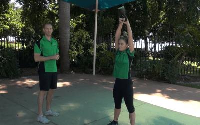 American Kettlebell Swings