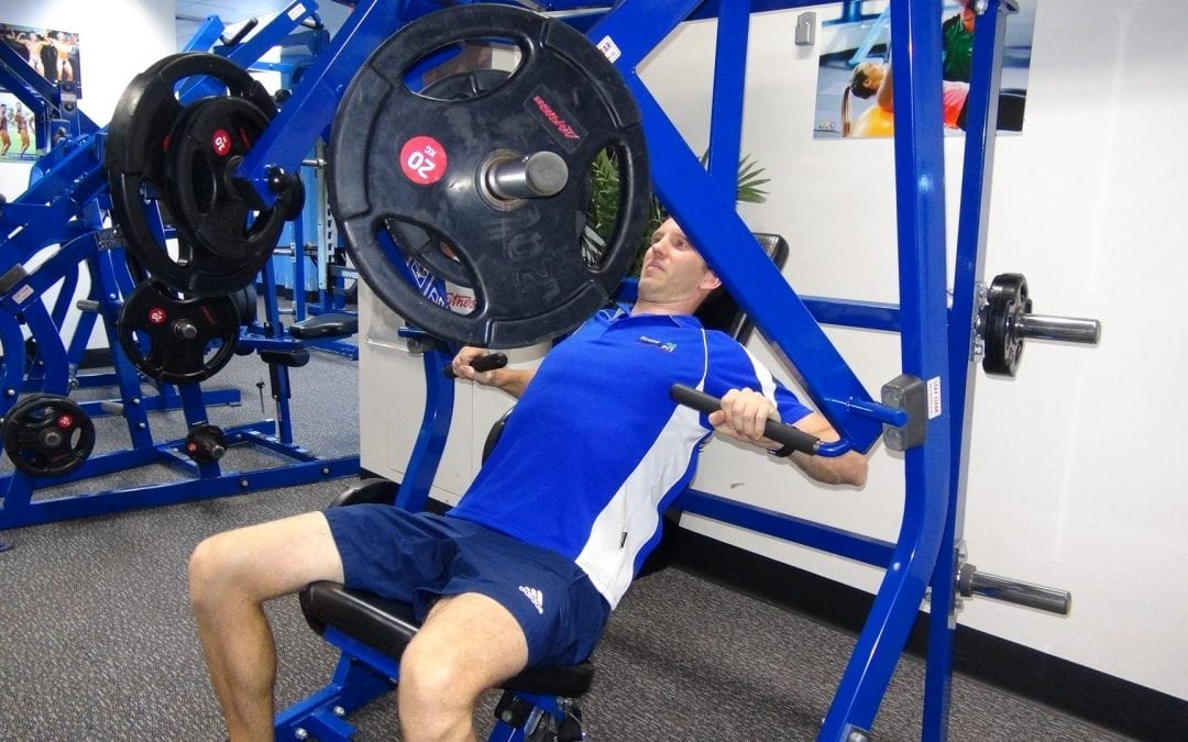 Iso-Lateral Decline Press