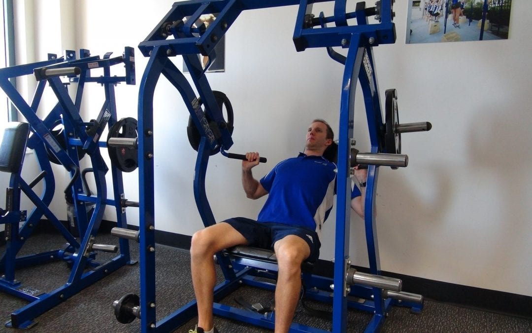Shoulder Press – Iso-Lateral Hammer Strength