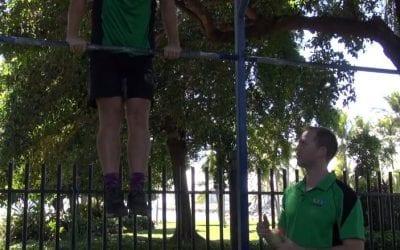 Jumping Bar Muscle Ups