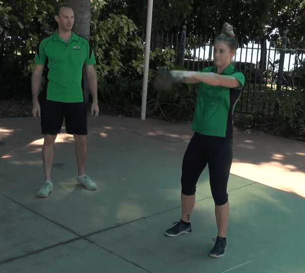 Russian Kettlebell Swings