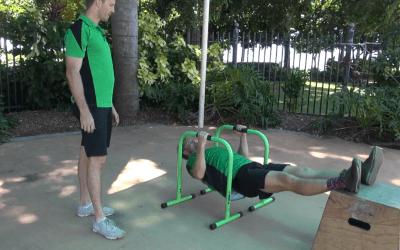 Lebert Equalizer Push ups & Rows