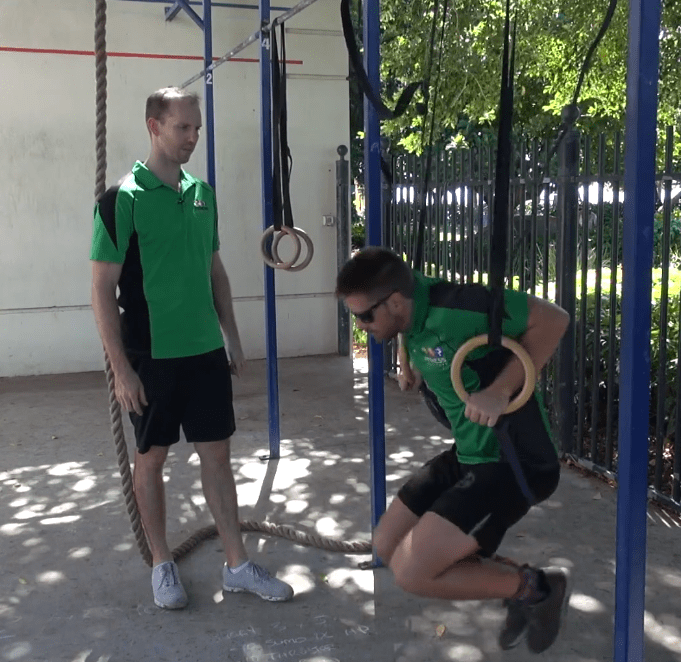 Rings Muscle Up