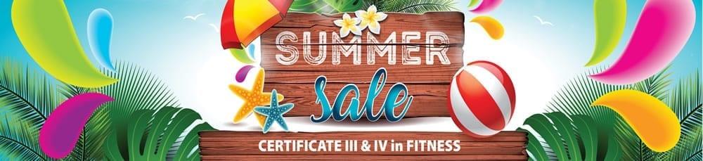 Fitness Institute Summer Sale