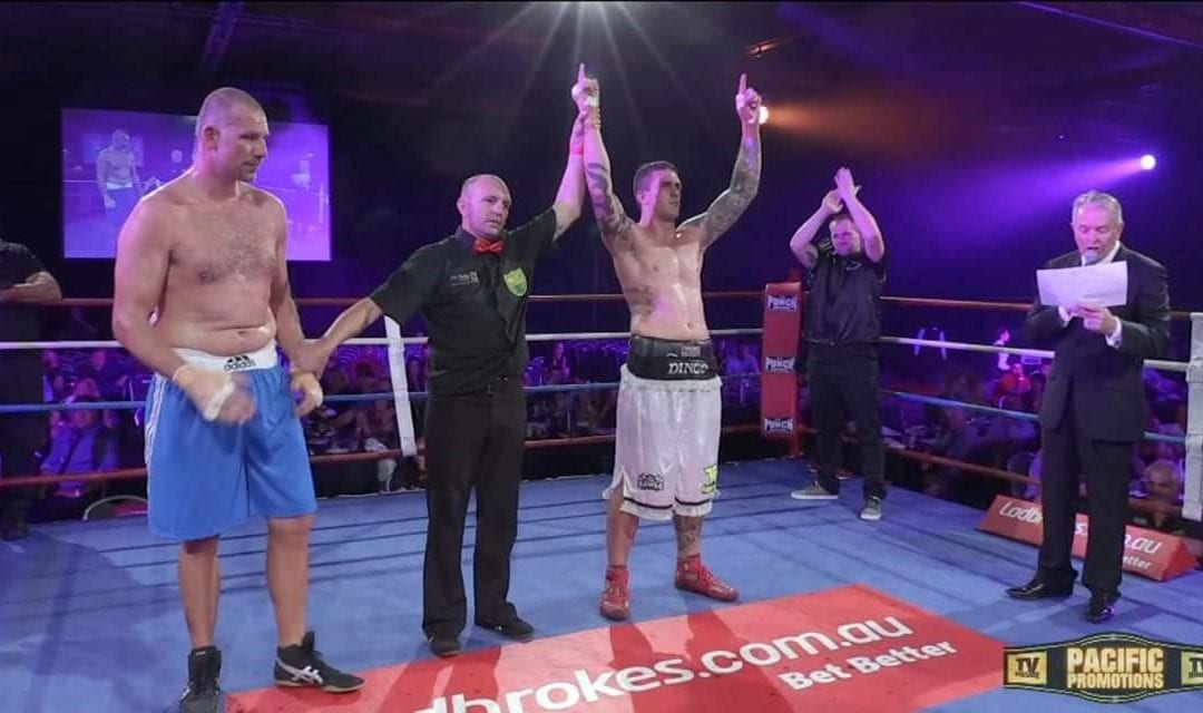 "Kurtis ""Dingo"" Pegoraro – PT & Boxing title holder!"