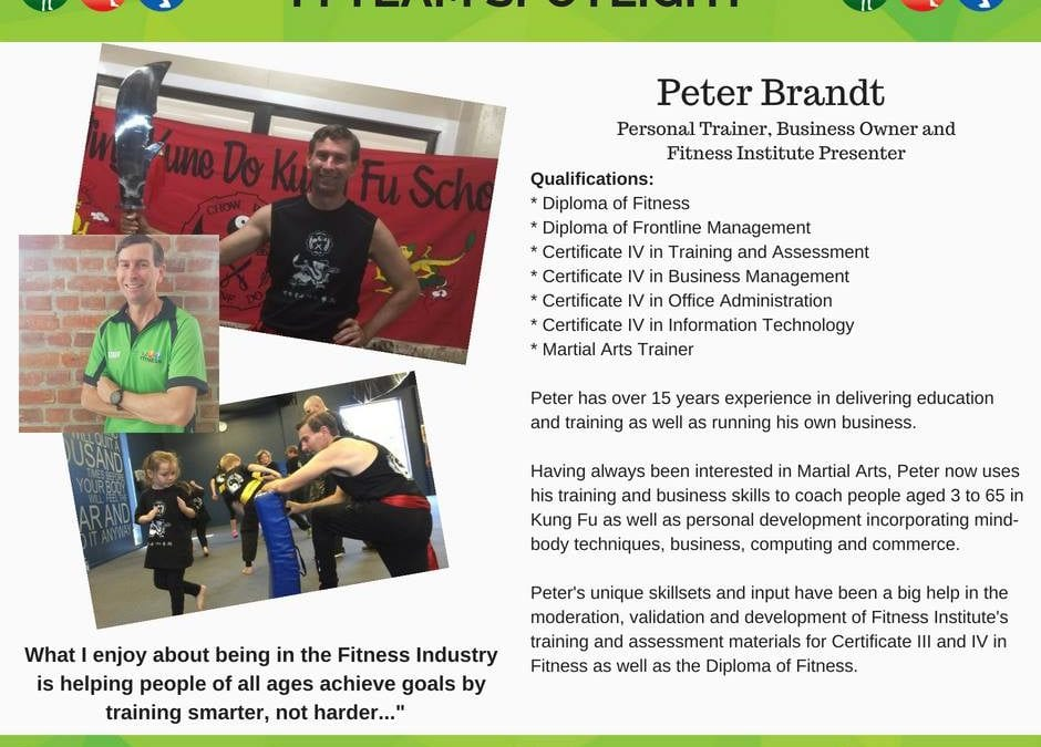 Peter Brandt – from graduate to guest presenter!