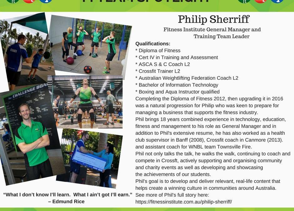 Philip Sherriff – On Overcoming Adversity….