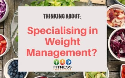 A Career in the Weight Management Industry