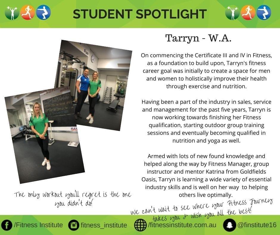 Fitness Institute Spotlight