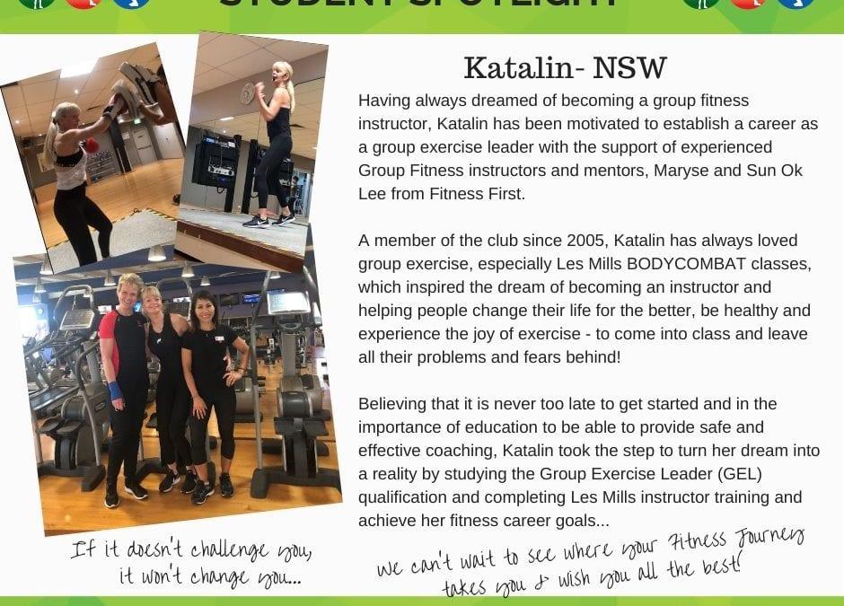 Student Spotlight: Katalin NSW
