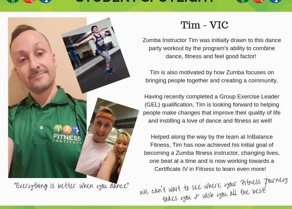 Student Spotlight: Tim – VIC