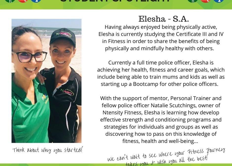 Student Spotlight: Elesha – S.A.