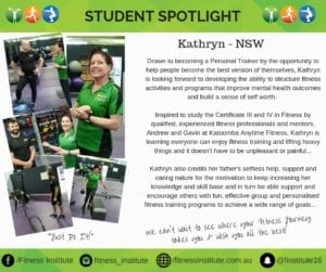 Kathryn Fitness Institute NSW
