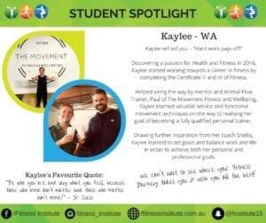 Spotlight Kaylee WA