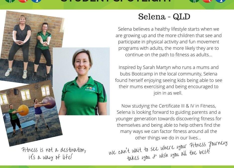 Student Spotlight: Selena – QLD
