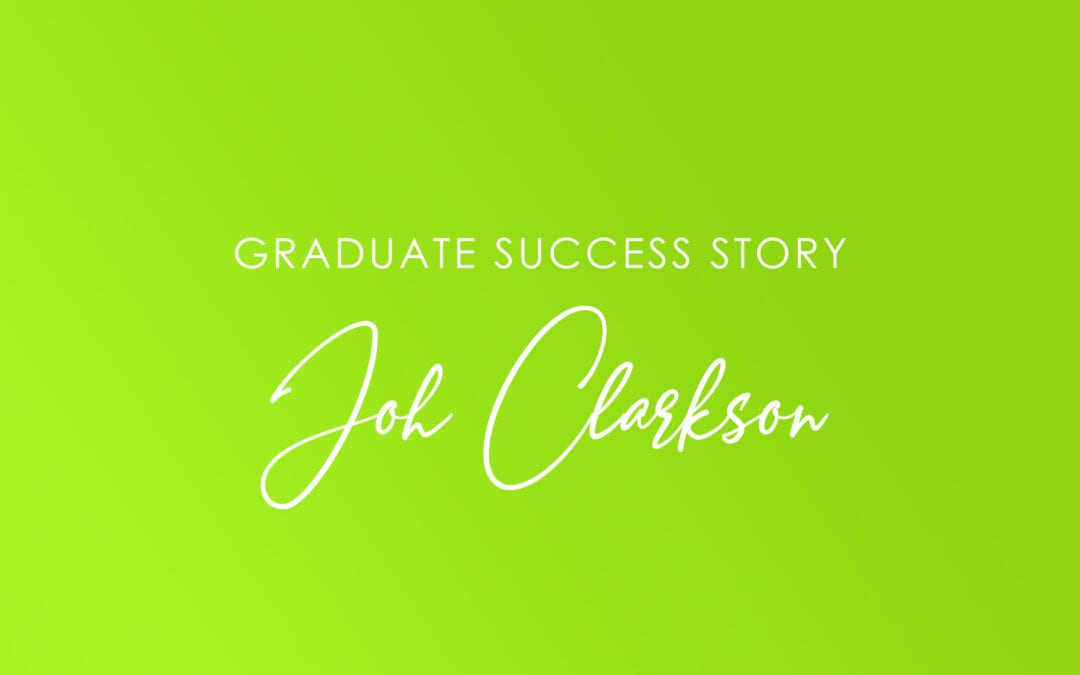 Joh Clarkson – Giving up is not an option!