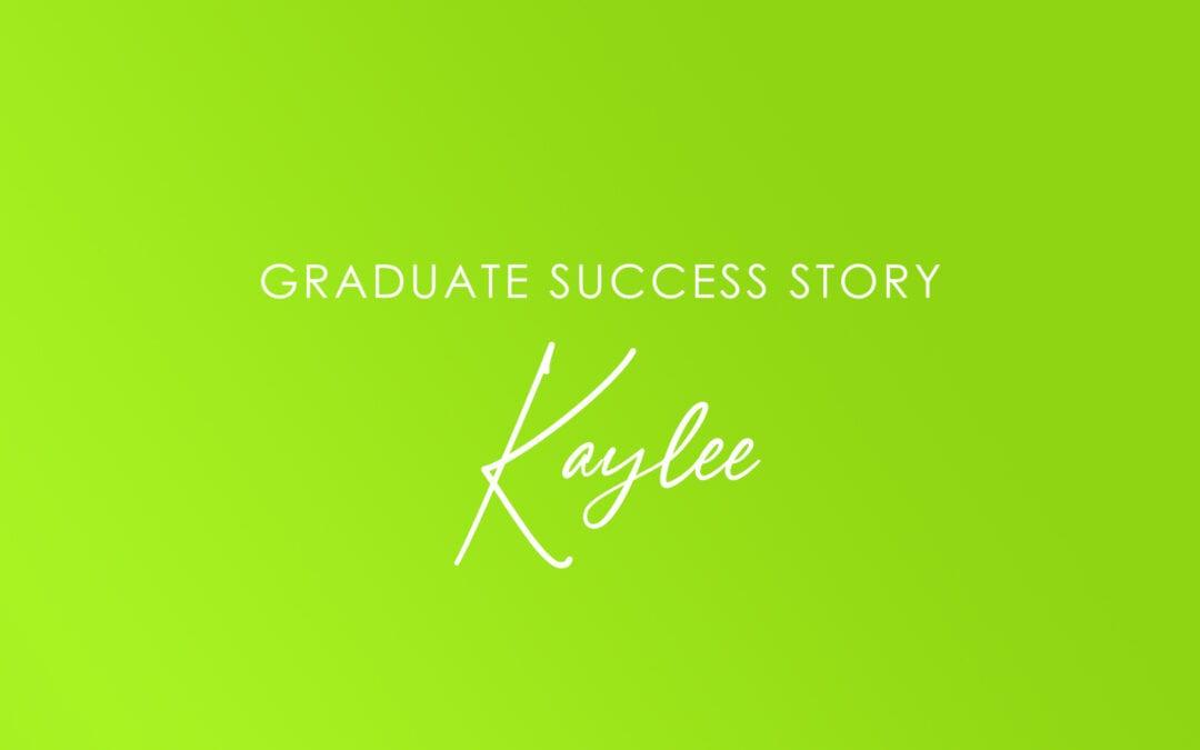 Student Spotlight: Kaylee – WA