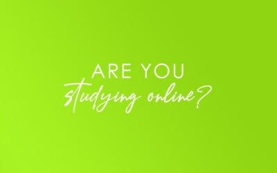 Are you studying online?