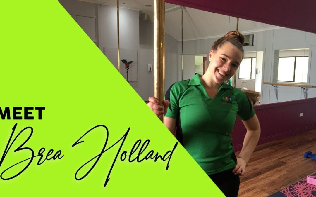 Brea Holland – making a career in fitness!