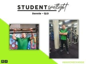 Student Spotlight - Donnie