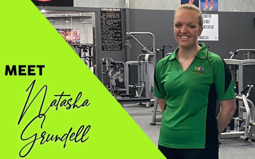 Natasha Grundell – on track to graduate!