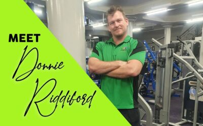 Donnie Riddiford – Qualified Personal Trainer!