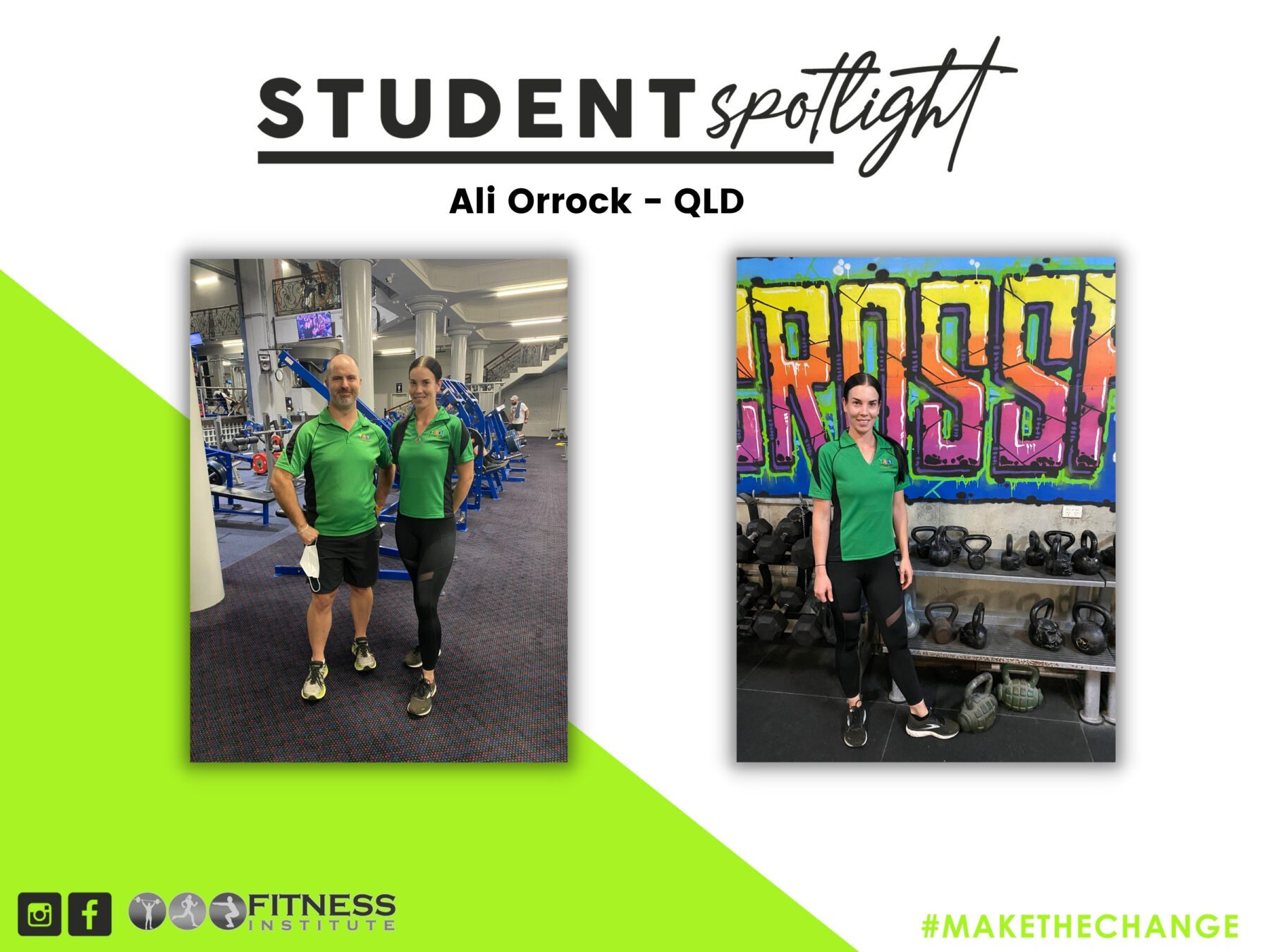 Student Spotlight - Ali Orrock