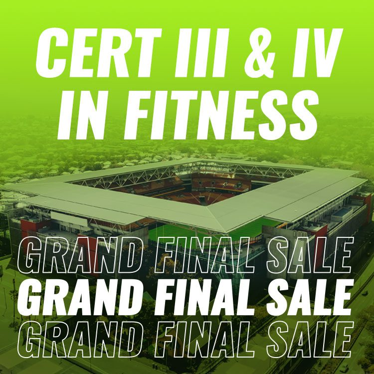 Personal Trainer Courses Footy Finals Sale